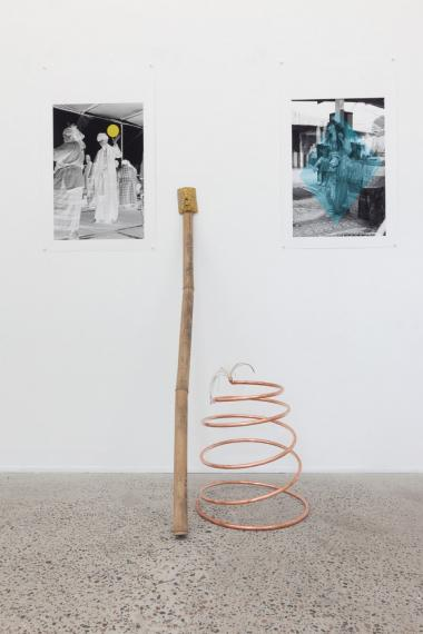 Mobility of Happiness (installation detail)
